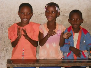 Some Children in Our Brazzaville Primary School